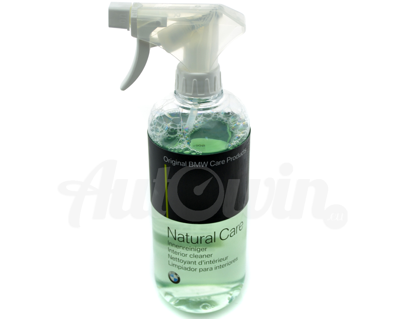 bmw natural care car interior fabric plastic cleaner spray 500ml accessories ebay. Black Bedroom Furniture Sets. Home Design Ideas