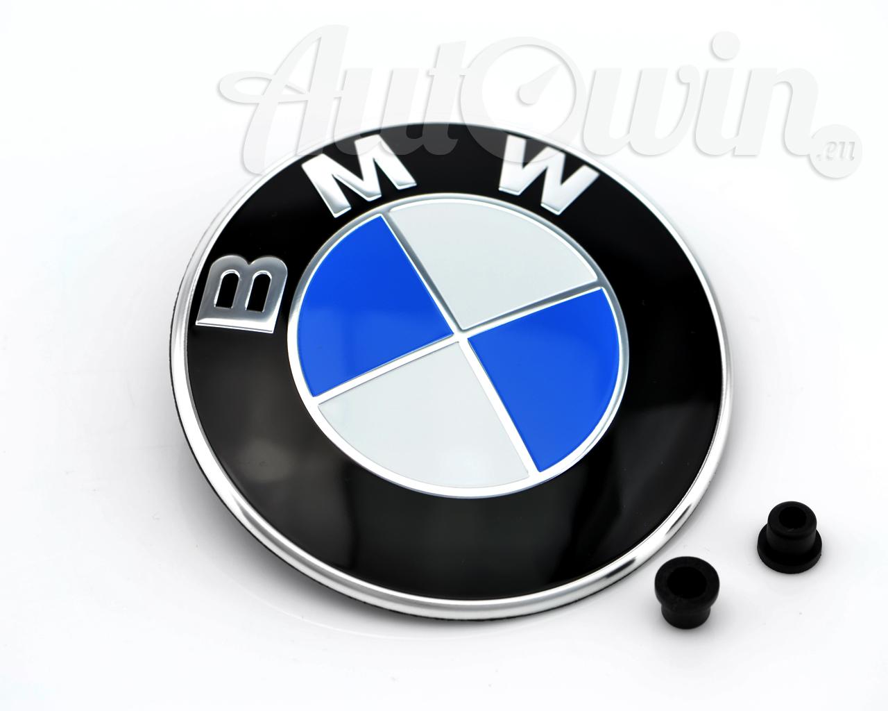 Bmw 5 Series F10 F11 F18 F07gt Hood Emblem Logo Original