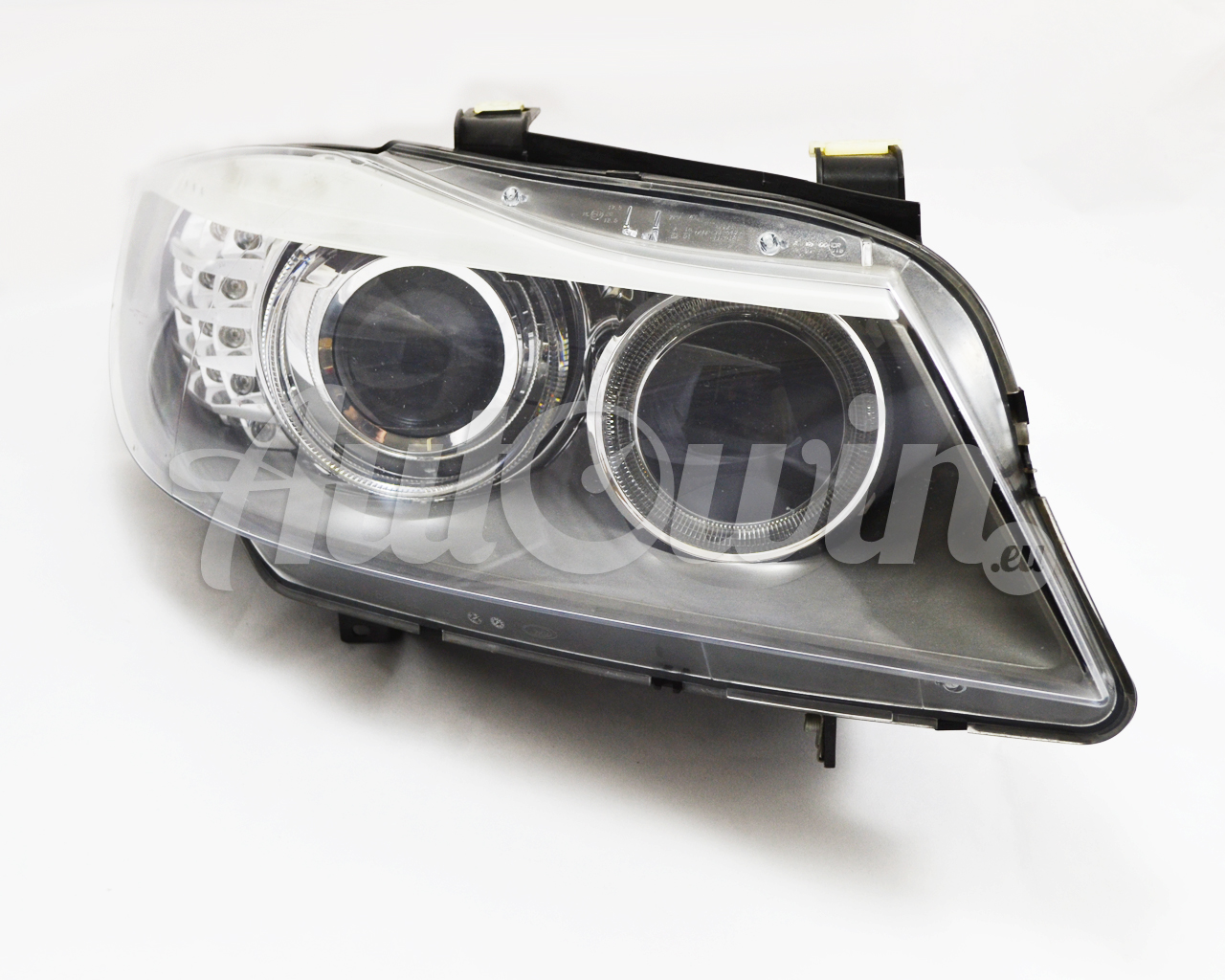 bmw 3 series e90 e91 lci headlight right rh bi xenon assembled full genuine oem. Black Bedroom Furniture Sets. Home Design Ideas
