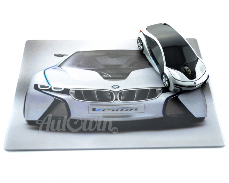Bmw Genuine I8 Concept Wireless Computer Mouse Mousepad