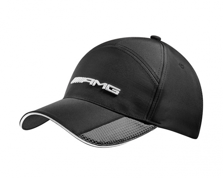 Amg baseball cap mens black mercedes benz collection for Mercedes benz caps hats