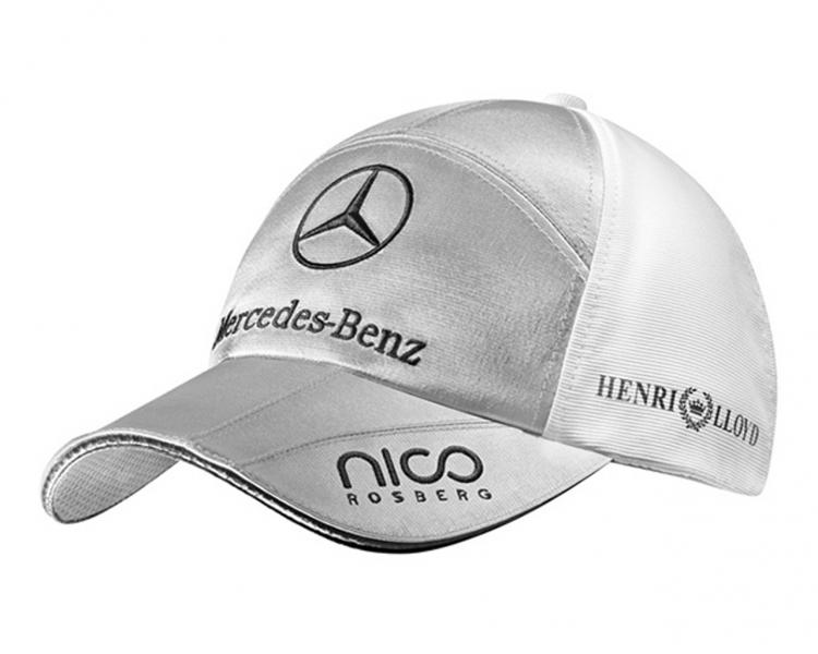 Nico rosberg baseball cap mercedes gp petronas formel for Mercedes benz baseball caps
