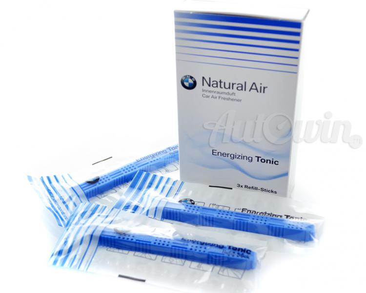 Bmw new natural car air freshener energizing tonic for Mercedes benz car air freshener