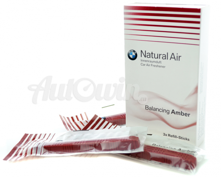 Bmw new natural car air freshener balancing amber for Mercedes benz car air freshener