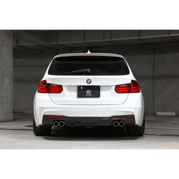 Bmwfort Package 3 Series: BMW 3 Series F30 F31 M Package Rear Diffuser 3DDesign