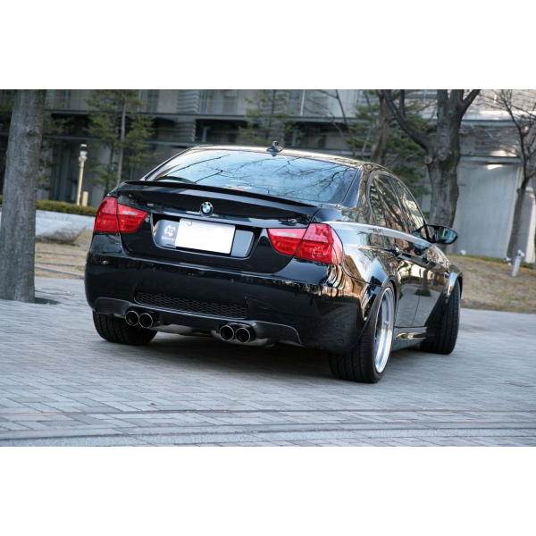 BMW 3 Series M3 E90 Carbon Rear Trunk Spoiler 3DDesign