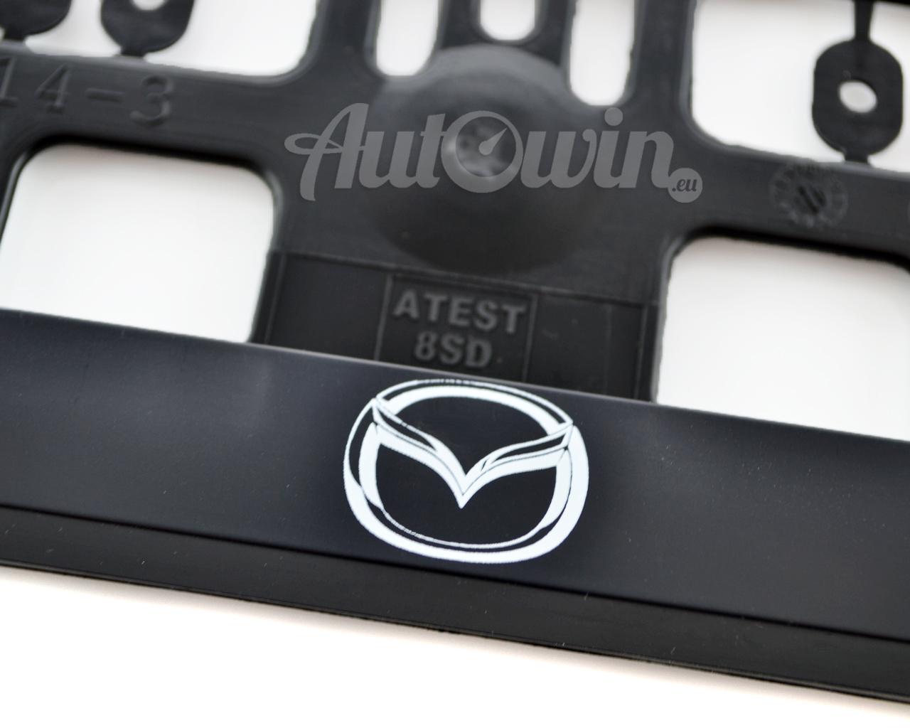 MAZDA CX-3 MAZDA CX-5 Euro Standart License Plates Frames with Mazda ...