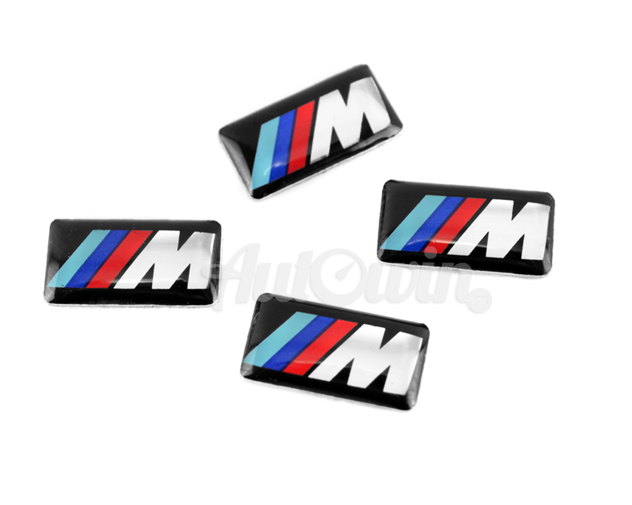 Bmw M6 Series Set Of 4x Small M Stick On Rims Emblem