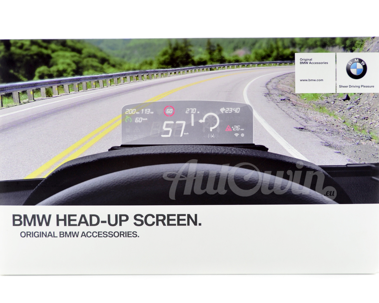 Bmw Genuine Head Up Screen Driving Assistance Oem