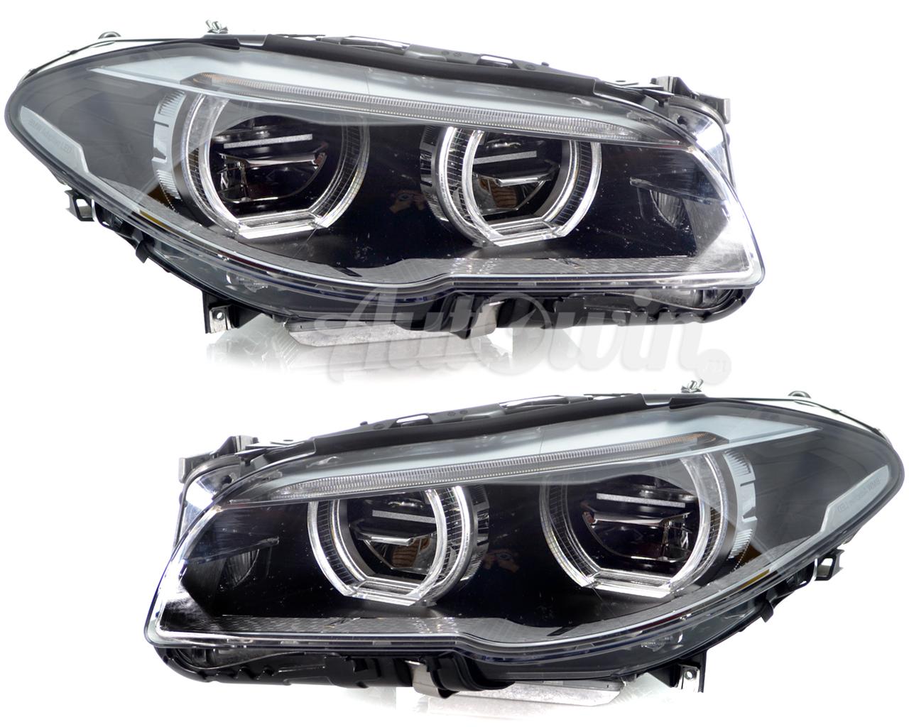 BMW 5 SERIES F10 F11 FULL LED ADAPTIVE HEADLIGHT ASSEMBLY LH & RH SIDE GENUINE   eBay