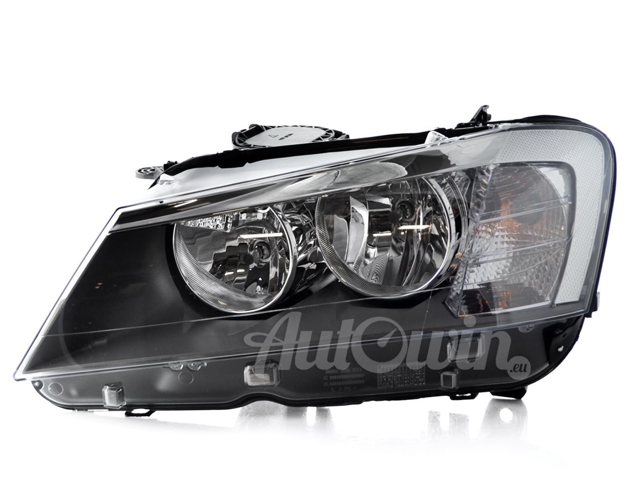 Bmw X3 Series F25 Halogen Headlight Lh Left Side Genuine Oem New 63127217287 Ebay