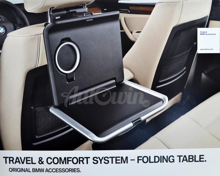 Bmw Genuine In Car Retrofit Storage Folding Seat Tray