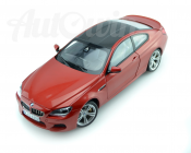 BMW M6 SERIES COUPE F13 CAR MODEL 1 : 18 RED OEM ORIGINAL