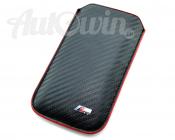 BMW M iPhone 5 / 5S Sleeve Original Mobile Phone Carbon Design Accessories OEM