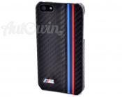 BMW ORIGINAL M/// iPhone 5 / 5S Hard Case For Mobile Phone Carbon Design NEW