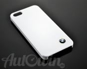 BMW METALLIC FINISH HARD CASE IN WHITE / IPHONE 5/5s