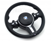 M/// STEERING WHEEL WITH AIRBAG, STEPTRONIC SHIFTERS, NAPPA LEATHER ORIGINAL