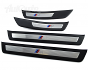 GENUINE M /// SET OF ENTRANCE COVER SILL STRIPES ORIGINAL
