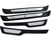 ///M SET OF ENTRANCE COVER SILL STRIPES SET GENUINE