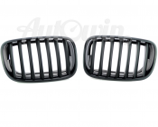 M Performance Genuine Front Left and Right Trim Kidney Grilles Black