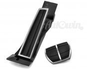 BMW Genuine Stainless Steel Pedal Pads Covers Set Automatic